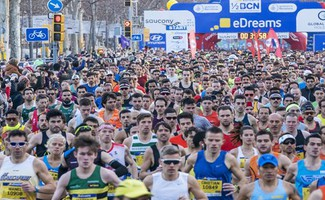 Global Run Barselona'da Koşuldu